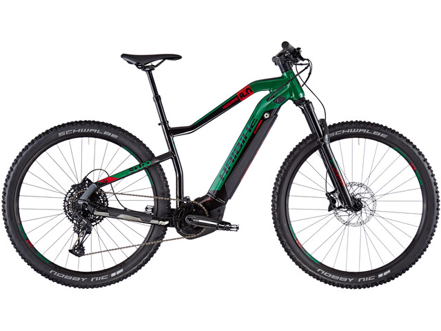 HAIBIKE SDURO HardNine 8.0, black/kingston/red